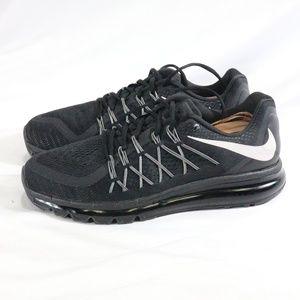 NIKE Air Max 2015 Mens Running Shoes Black/White
